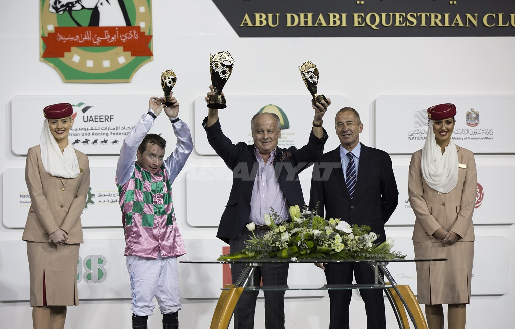 Beasley takes the plaudits at Abu Dhabi with a double strike