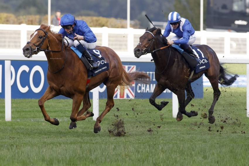 Appleby opens Champions Day account after Creative proves himself a sprint Force