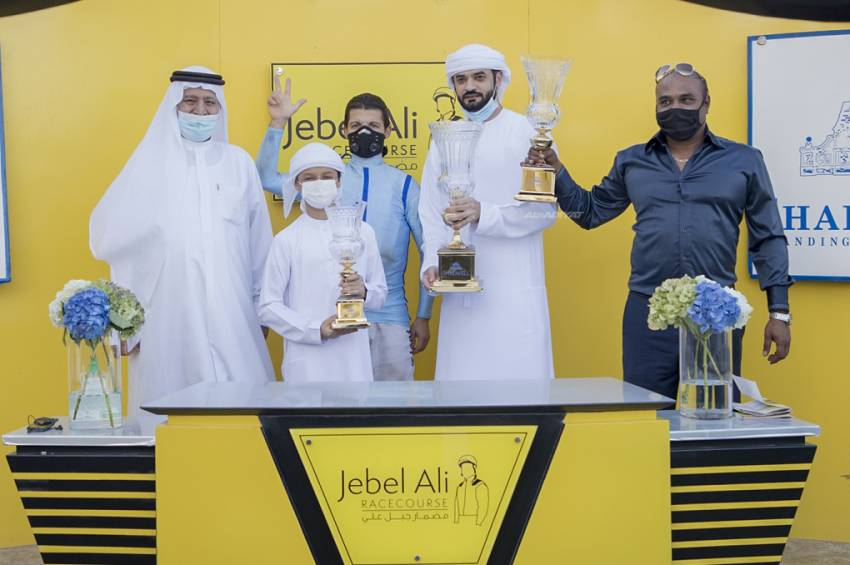 Bin Ghadayer and Ziani win Jebel Ali Mile as rivals are Blown By Wind