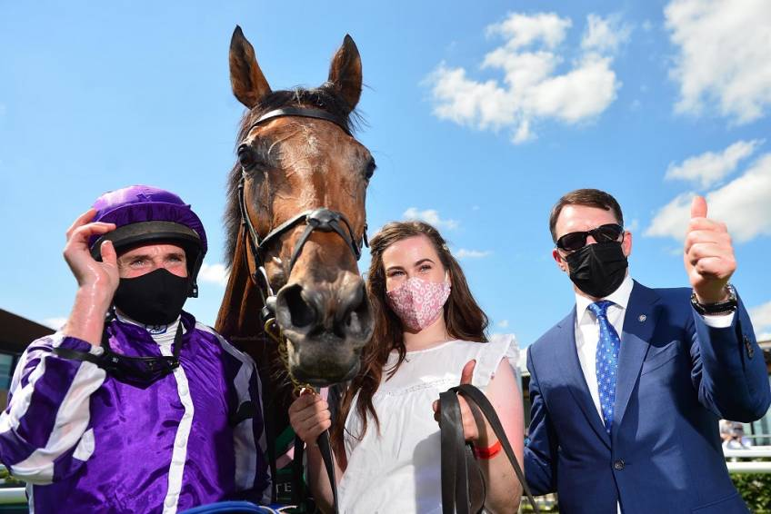 Snowfall romps home to complete English and Irish Oaks double for O'Brien