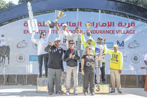 Comfortable Al Reef Cup success for Sheikh Rashid after riding to a Pelann