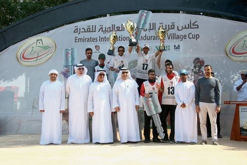 Sheikh Hamed lands Cup at Wathba with skill and a bit of good fortune