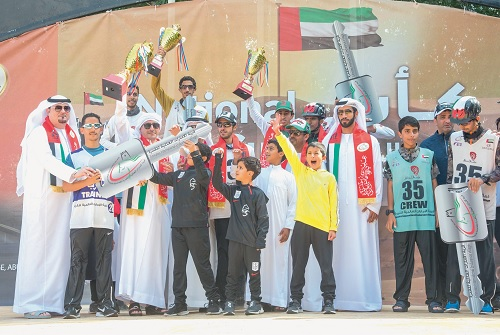 Al Harbi and Alesha hurry over final loop to win National Day Cup at Wathba