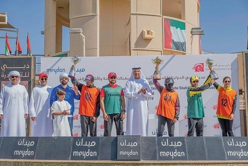 Al Ansaari revs up a bit to win Al Taseera Ride at DIEC