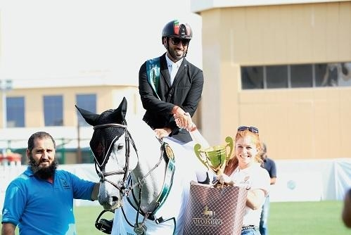 Al Sharbatly's jumping success marks a good week for Saudis in the UAE