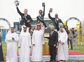 Qatar land a treble and Sheikha Latifa has a 'nuts' performance at the CSIO5* President's Cup