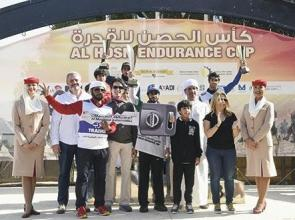 No need for Al Mozroui to Paute in Al Hosn Endurance Ride