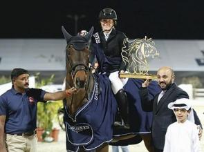 Hecart records an unimaginable feat at the Al Shiraa'a GP, while Emirates' Al Marri takes fourth