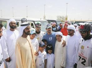 Al Marri crowns himself with season ending prestigious Dubai Crown Prince Endurance Cup