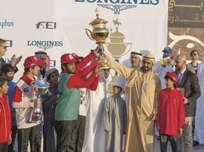 Al Mazrouei scalps Sheikh Mohammed Endurance Cup with a classy ride aboard Nopoli Del Ma