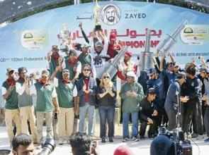 Al Juniabi applauds 'strong' Sarab after he ensures victory is no mirage in Emirates Championship