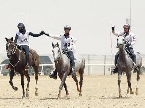 Vigevani triumphs in tense Abu Dhabi Festival Endurance Ride at Wathba