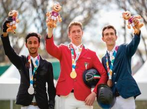 Al Marzooqi leaps to a historic silver at Youth Olympic Games in Argentina