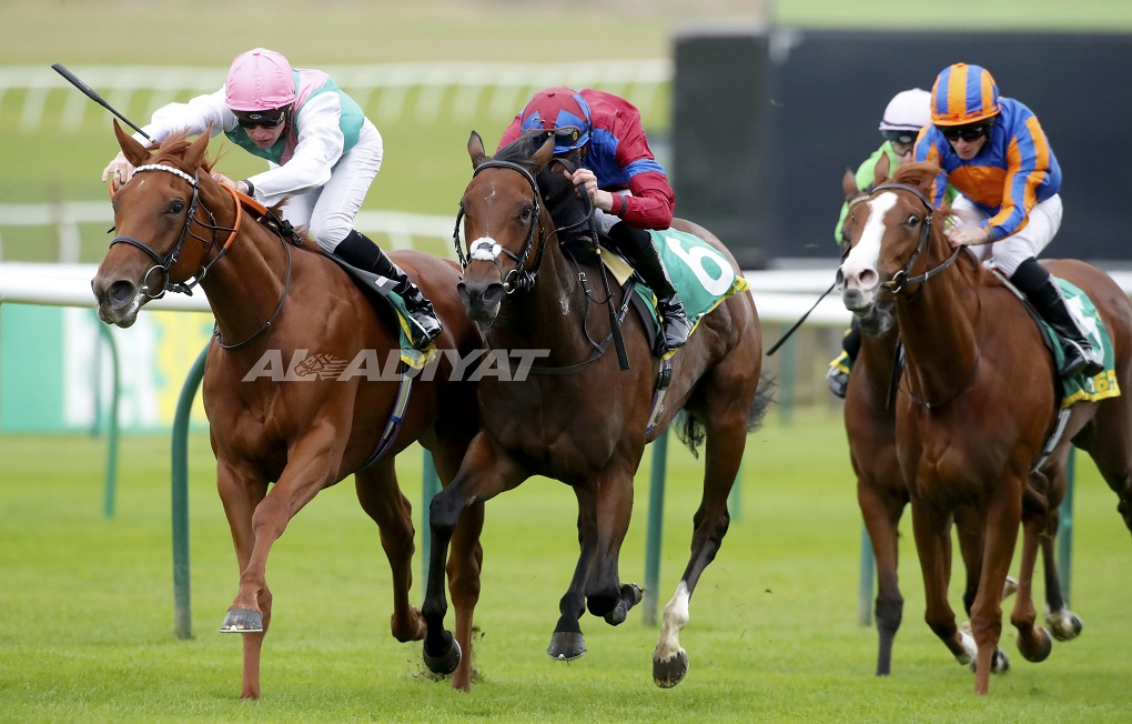 Exciting Quadrilateral delivers Charlton and Watson Gr1 success in the Fillies' Mile