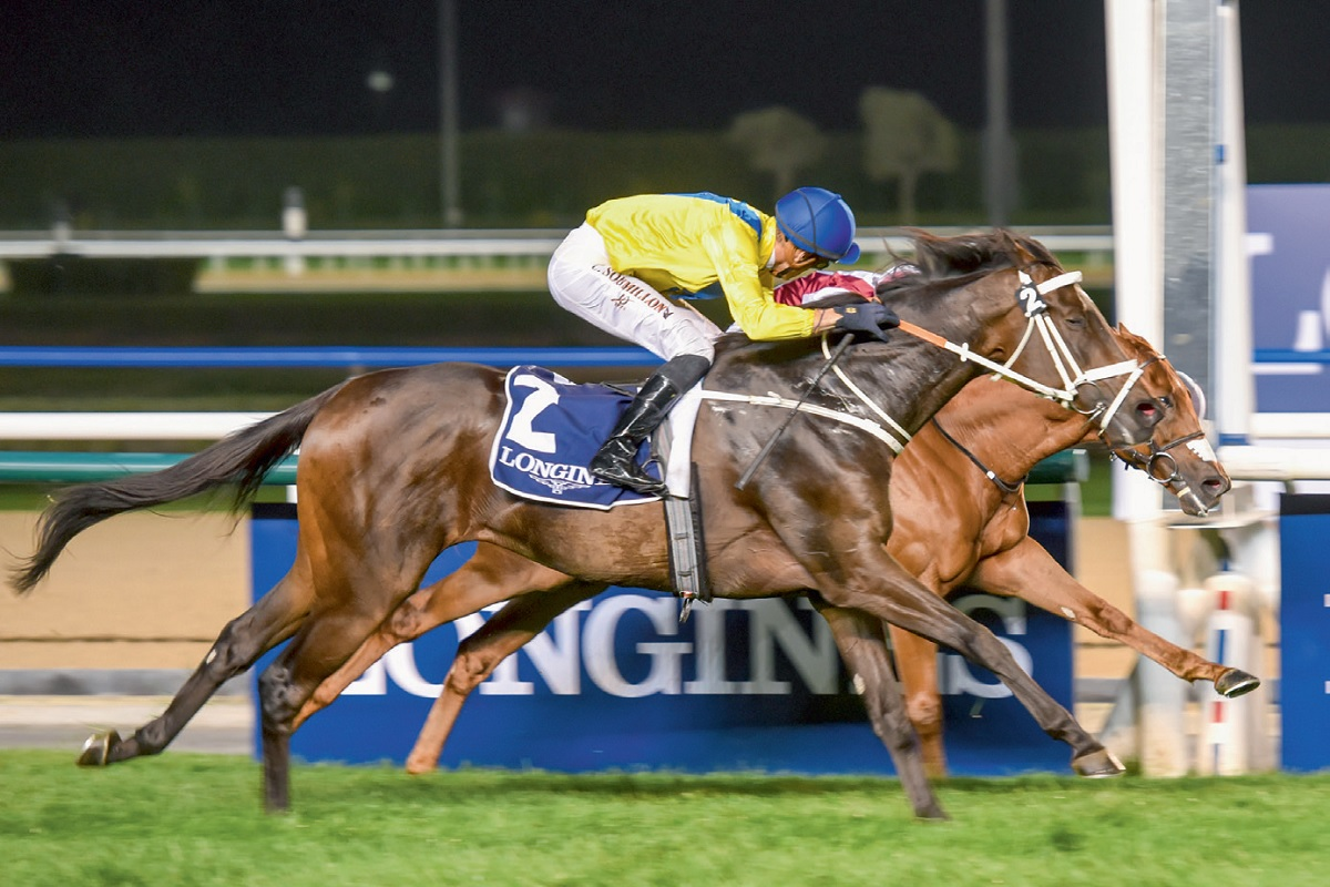 Victory Key for Godolphin to finish with Meydan Top Score