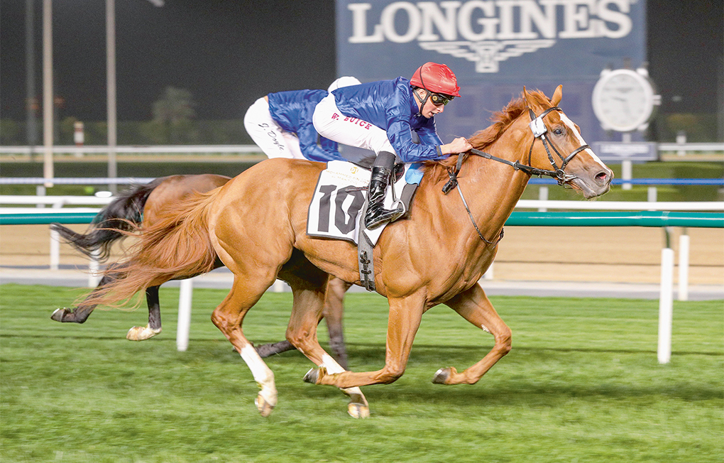Meydan treble highlighted by Ispolini's Trophy