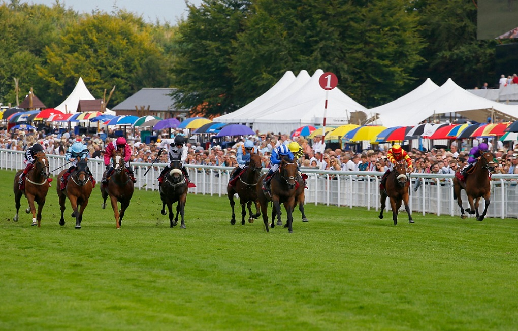 Battaash completes King George hat-trick with scorching Goodwood run