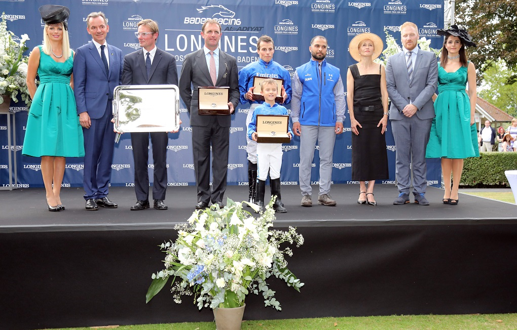 Ghaiyyath does Godolphin proud with massive top tier success at Baden-Baden