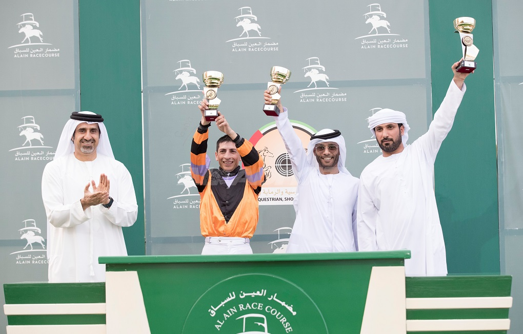 Marathon finale victory for Al Hammadi and Pinheiro with Octave while De Roualle and Mullen combine to land Al Ain Derby with Musheer Al Wathba