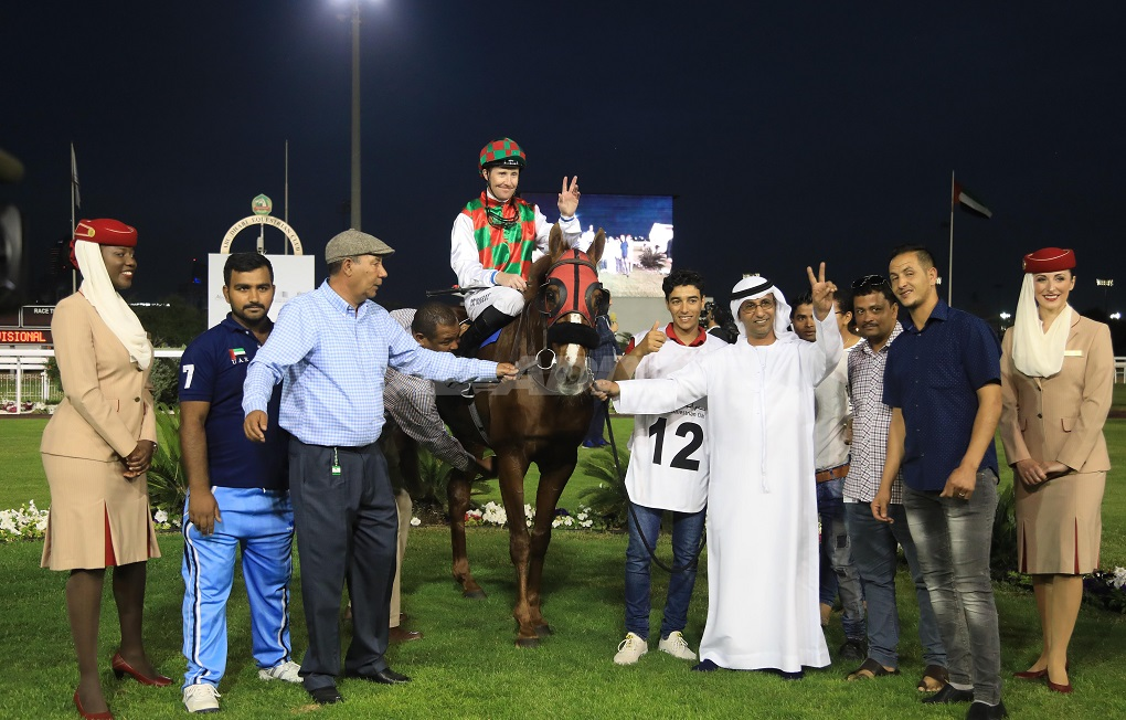 Cosgrave lands big money double at Abu Dhabi for Al Mehairbi and Ramadhan