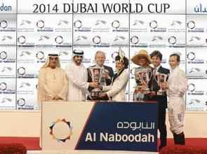 UAE DERBY:New York the Toast of Meydan