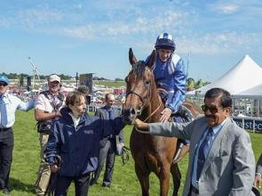 Taghrooda stars in Epsom Oaks 1-2 for Sheikh Hamdan