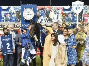 Jack Hobbs hits them for six - DUBAI SHEEMA CLASSIC
