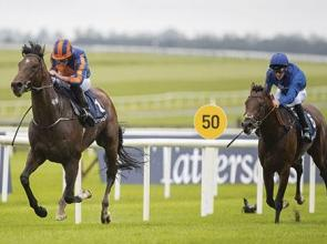 Thunder Snow and heavy rain not enough to deny Churchill - IRISH 2000 GUINEAS