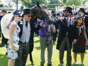 Super six for Sheikh Mohammed's Men in Blue at Ascot