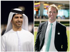 Godolphin treble with two lowering track records
