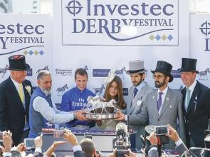 Buick steers winning route aboard Masar